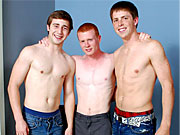 twinks Straights amazing and naughty threesome and great blowjobs